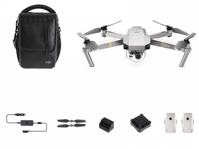 DJI Mavic Pro FLY MORE Platinum