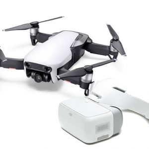 DJI Mavic Air Fly Arctic White + Goggles Bundle