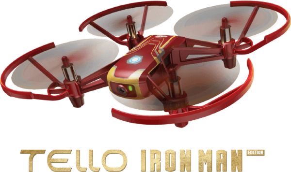 Ryze Tello Iron Man Edition, Powered by DJI