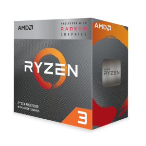 AMD Ryzen 3 3200G Processor with Radeon™ Graphics 4 cores / 4.0 GHz