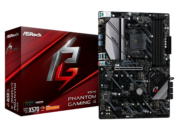ASRock X570 Phantom Gaming 4 - X570 / ATX