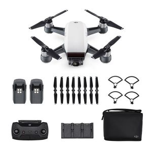 DJI Spark Alpine White Fly More Combo (Fyndvara - Klass 1)